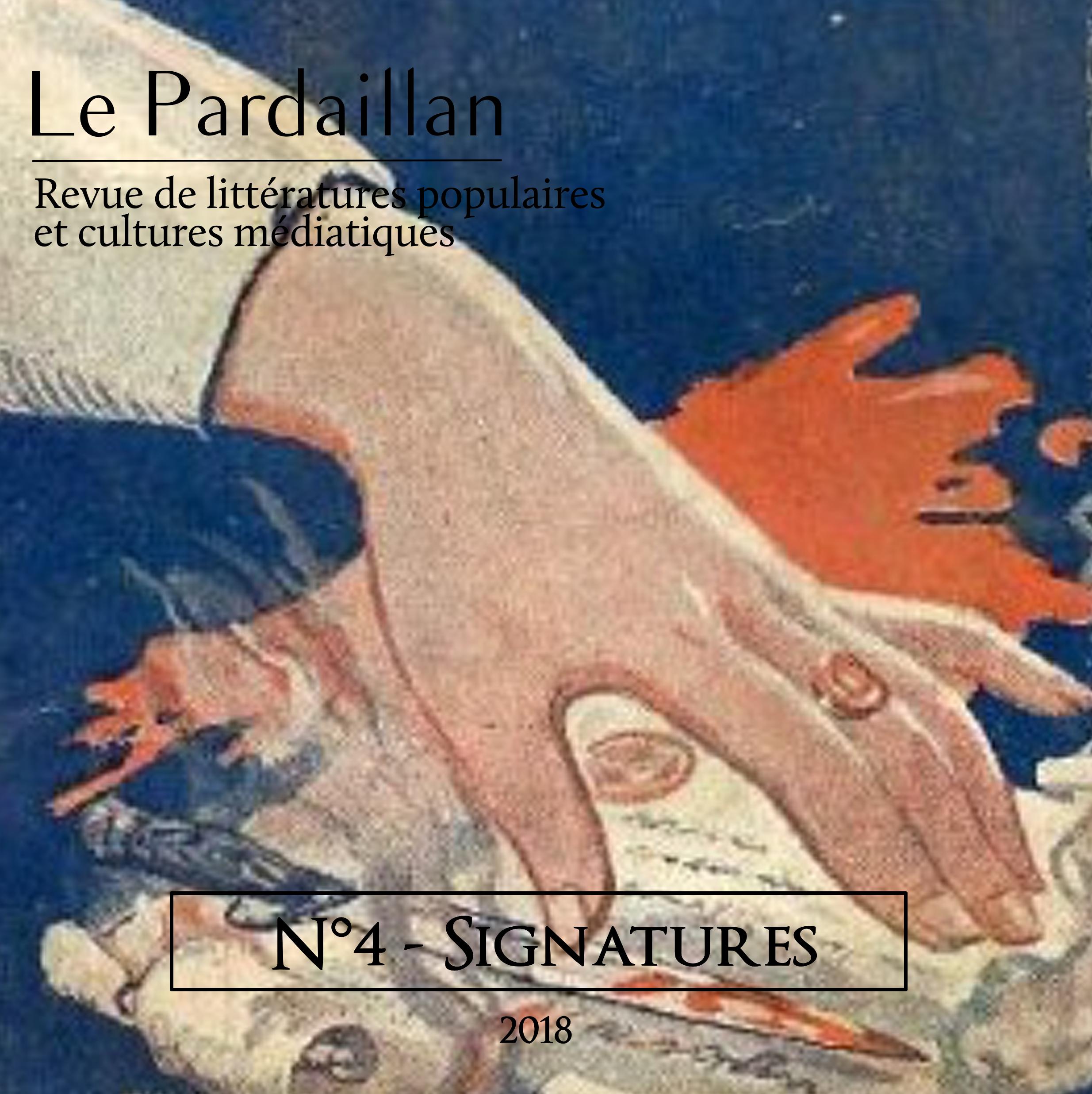 Le Pardaillan N°4 - Signatures Image